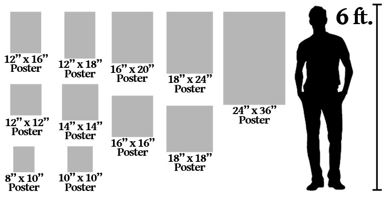 How to print a poster size picture