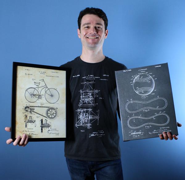 Patent Earth founder Micah Vinyard