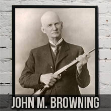 Patent Art from Inventor John Moses Browning